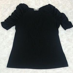 H&M Ruffled Sleeve Top Size Medium